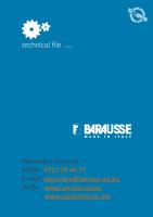 BARAUSSE CATALOG TEHNIC