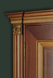 dettaglio Palladio 510 PP-usa-de-interior-furnir-natural-alun-stejar-balamale-pivot-vopsita-negru-alb-clasic-auriu-modele-usi -interior