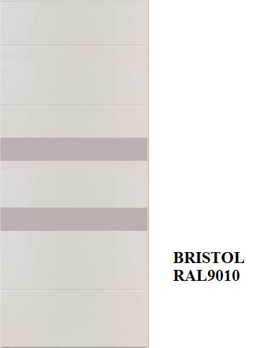 Bristol - RAL 9010 inserti acciaio inox
