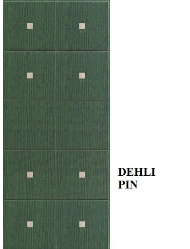Delhi - Pino mordenzato Verde Foresta