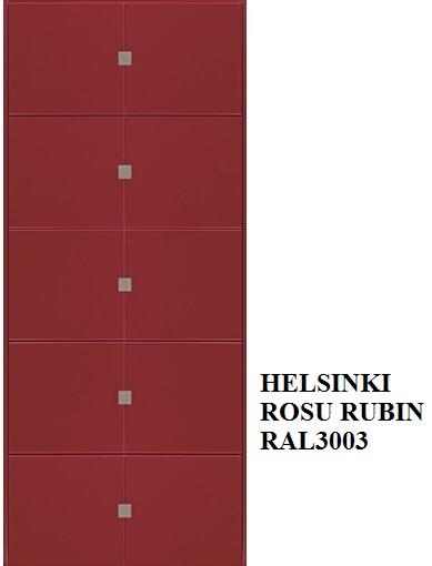 Helsinki -  Rosso Rubino RAL 3003