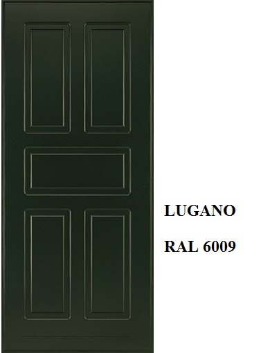 Lugano - Verde Abete RAL 6009