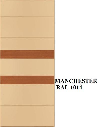 Manchester - RAL 1014 inserti Rovere miele