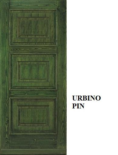 Urbino - Pino mordenzato Verde Foresta